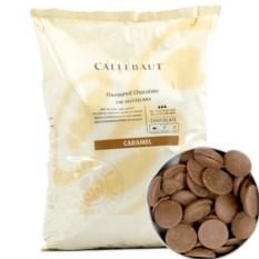 Молочный шоколад с карамелью в монетах Callebaut