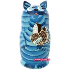 Набор матрешек Синий кот