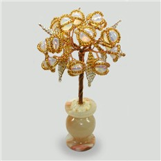 Миниатюрное дерево из лунного камня Дар природы