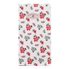 Нелинованный блокнот Simple style flora
