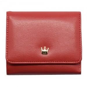 Кошелек Crown большой (красный)