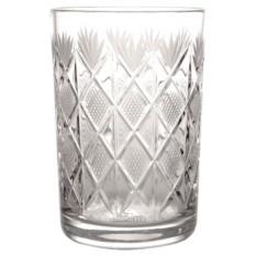 Хрустальный стакан для подстаканника Ромбики