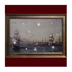 Картина Swarovski Военный флот