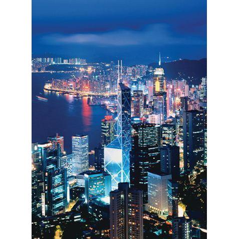 Пазл «Ночное небо Гонконга»