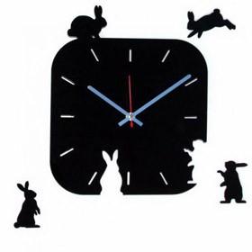 Часы настенные Зайчатки