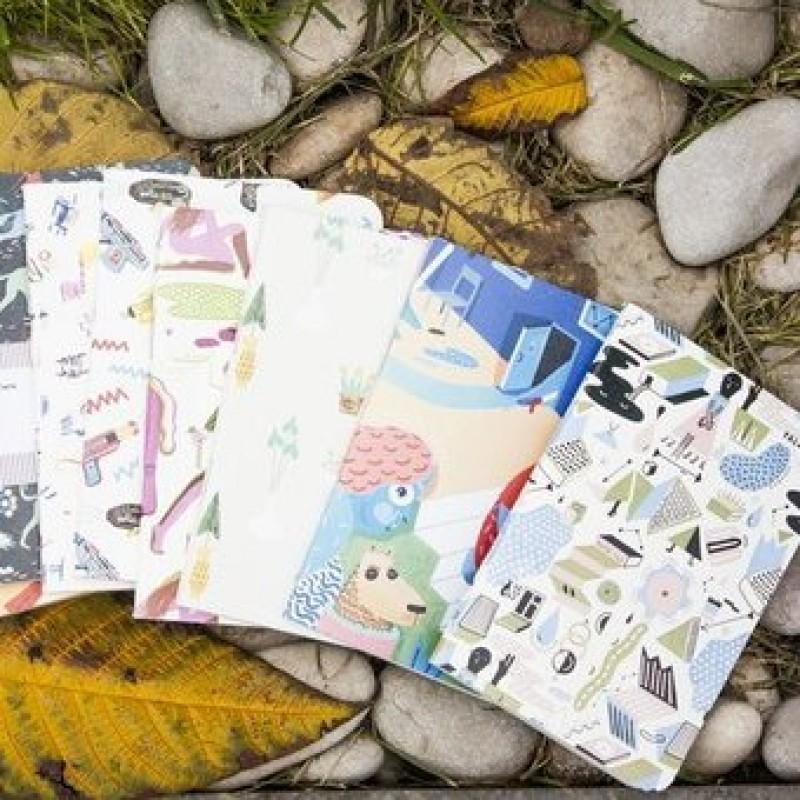 Блокноты Falafel Books. Разные принты. Формат А5