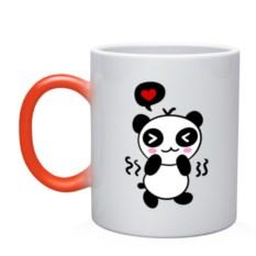 Кружка-хамелеон Panda boy