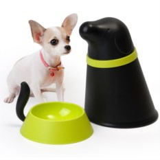 Контейнер и миска для собаки Pupp