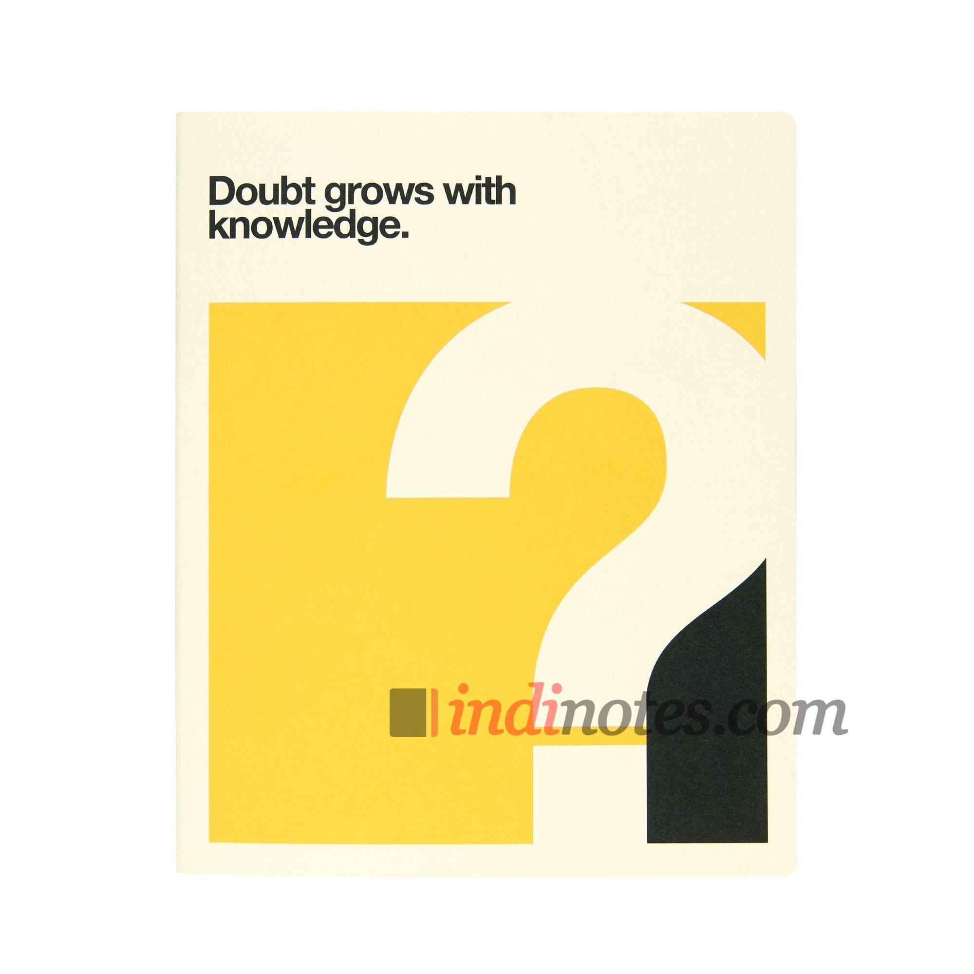 Записная книжка Quotes Doubt Softcover A4 от Ogami