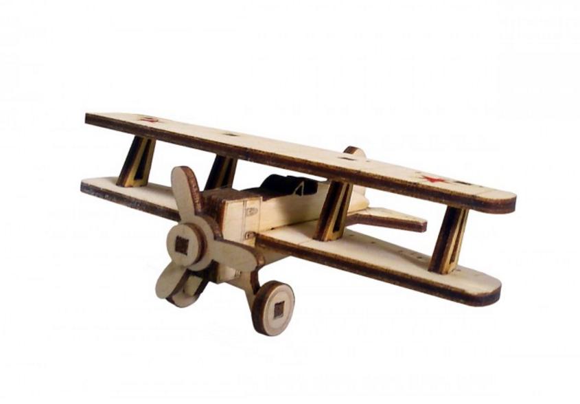 3D конструктор из дерева Советский самолет У-2