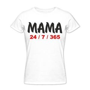 Футболка Мама 24 | 7 | 365