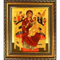 Икона Божьей Матери на холсте Всецарица (Пантанасса)»