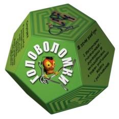 Зеленый набор головоломок «Додекаэдр»
