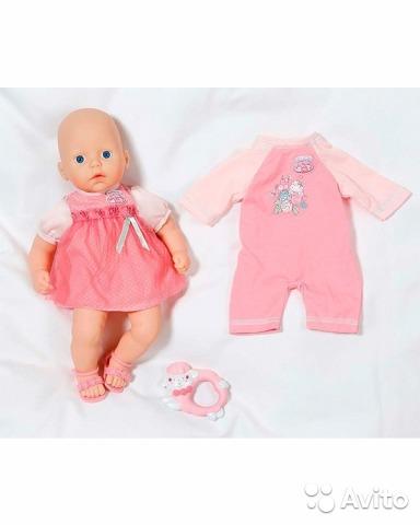 Baby Annabell Кукла с набором одежды (Zapf Creation)