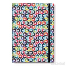 Книга для записей A4 hexagon