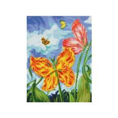 Алмазная вышивка «Бабочки»