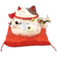 Кот-копилка Манеки-неко Волшебная книга желаний!