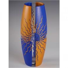 Стеклянная ваза Восход