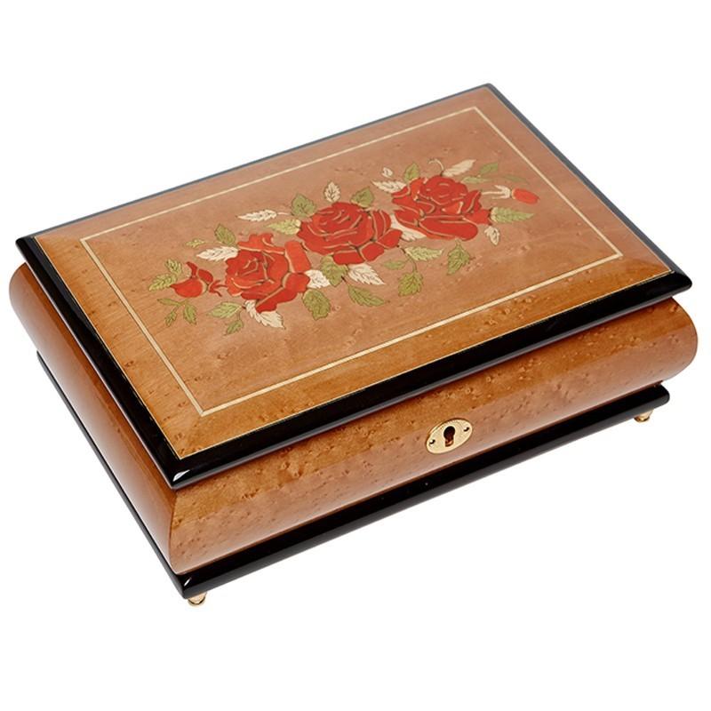 Музыкальная шкатулка для ювелирных украшений, AW-02-073