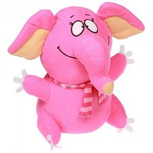 Мягкая игрушка «Розовый слон»