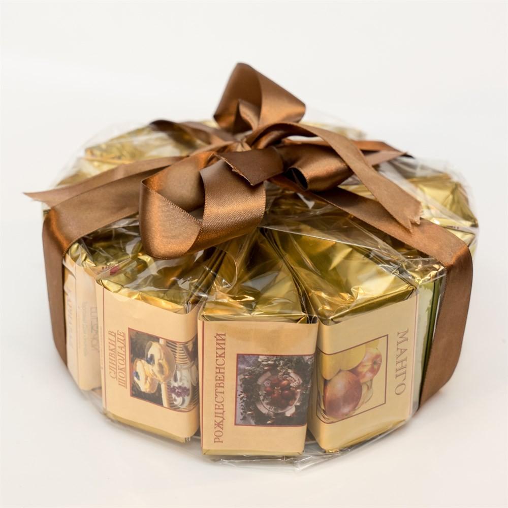 Подарочный чайный набор «Чайный торт» №1