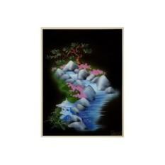 Картина с кристаллами Swarovski Японский сад