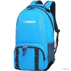 Голубой рюкзак Wenger School