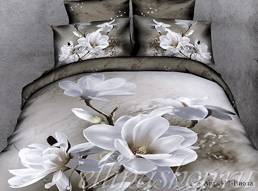 Сатиновый комплект постельного белья Afrodita