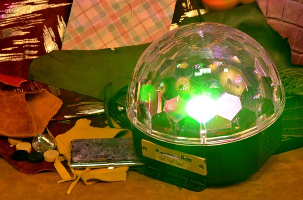 Цветомузыка-диско шар с mp3 плеером и USB
