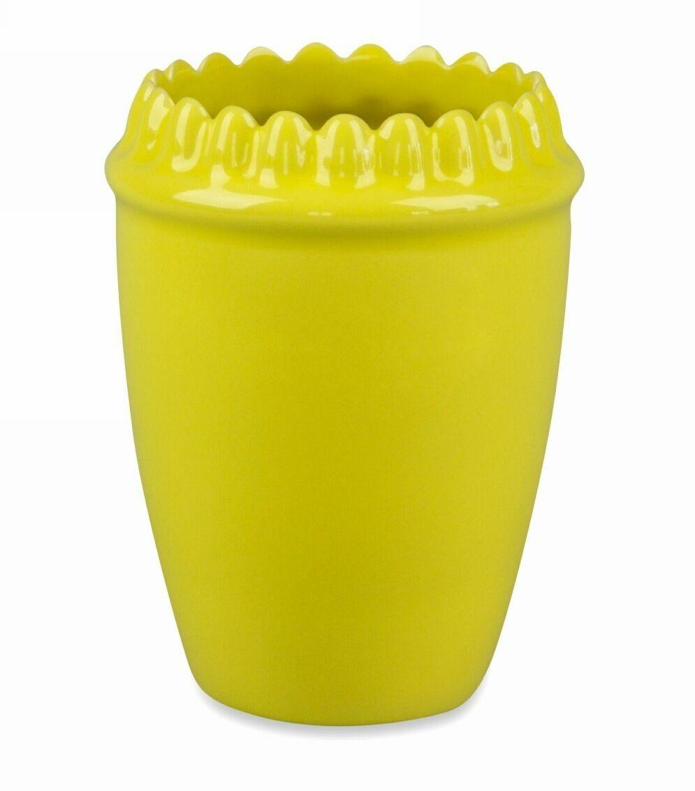 Желтый Зубастый стакан