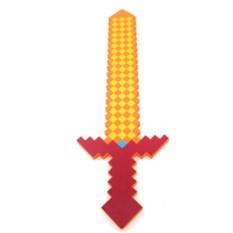 Лавовый меч из Майнкрафт