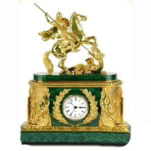 Каминные часы «Торжество победы»