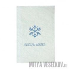 Обложка для автодокументов Русская зима