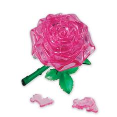 Головоломка 3D crystal puzzle Розовая Роза