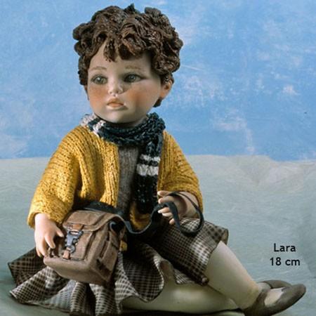 Фарфоровая статуэтка Lara
