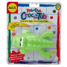 Игрушка для ванны Крокодил на блистере