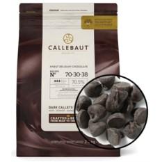 Темный бельгийский шоколад 54,5% какао в монетах Callebaut