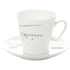 Набор кофейных чашек с блюдцами Маленький принц (фарфор)