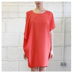 Платье Афина кораловое