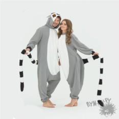 Пижама-кигуруми Лемур