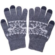 Перчатки для сенсорных экранов «Зимняя сказка»