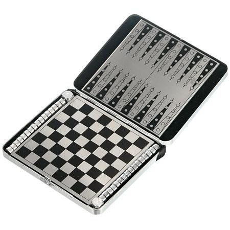 Дорожный набор игр нарды, шашки