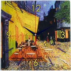 Настенные часы «Ван Гог. Терраса кафе ночью»