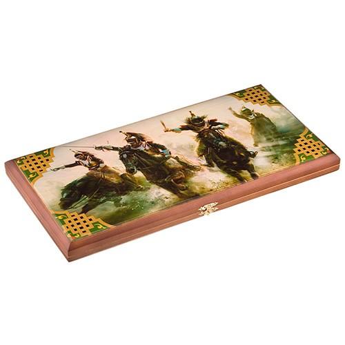 Подарочные деревянные нарды «Атака»
