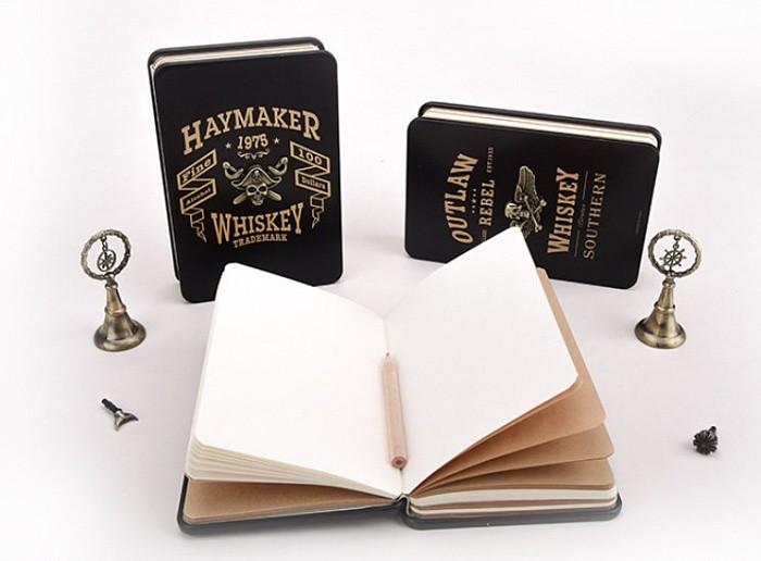 Записная книжка в жестяной обложке Pirate Legends
