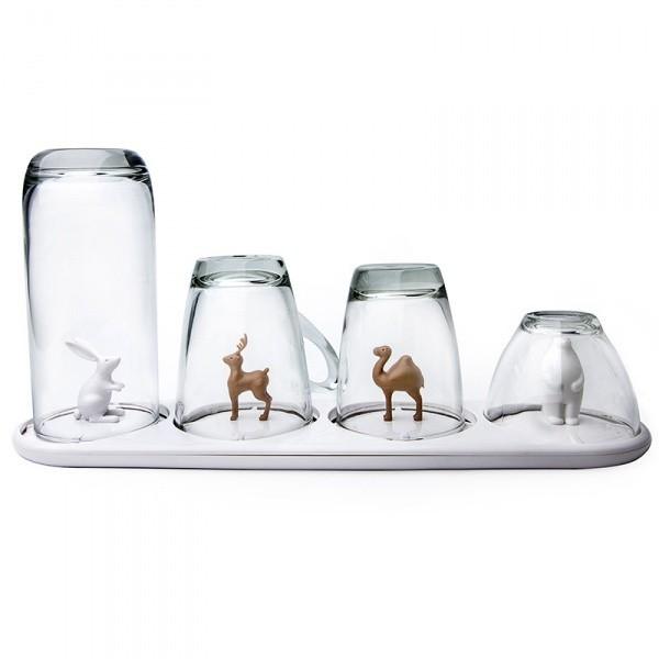 Сушилка для бокалов и стаканов Animal Parade