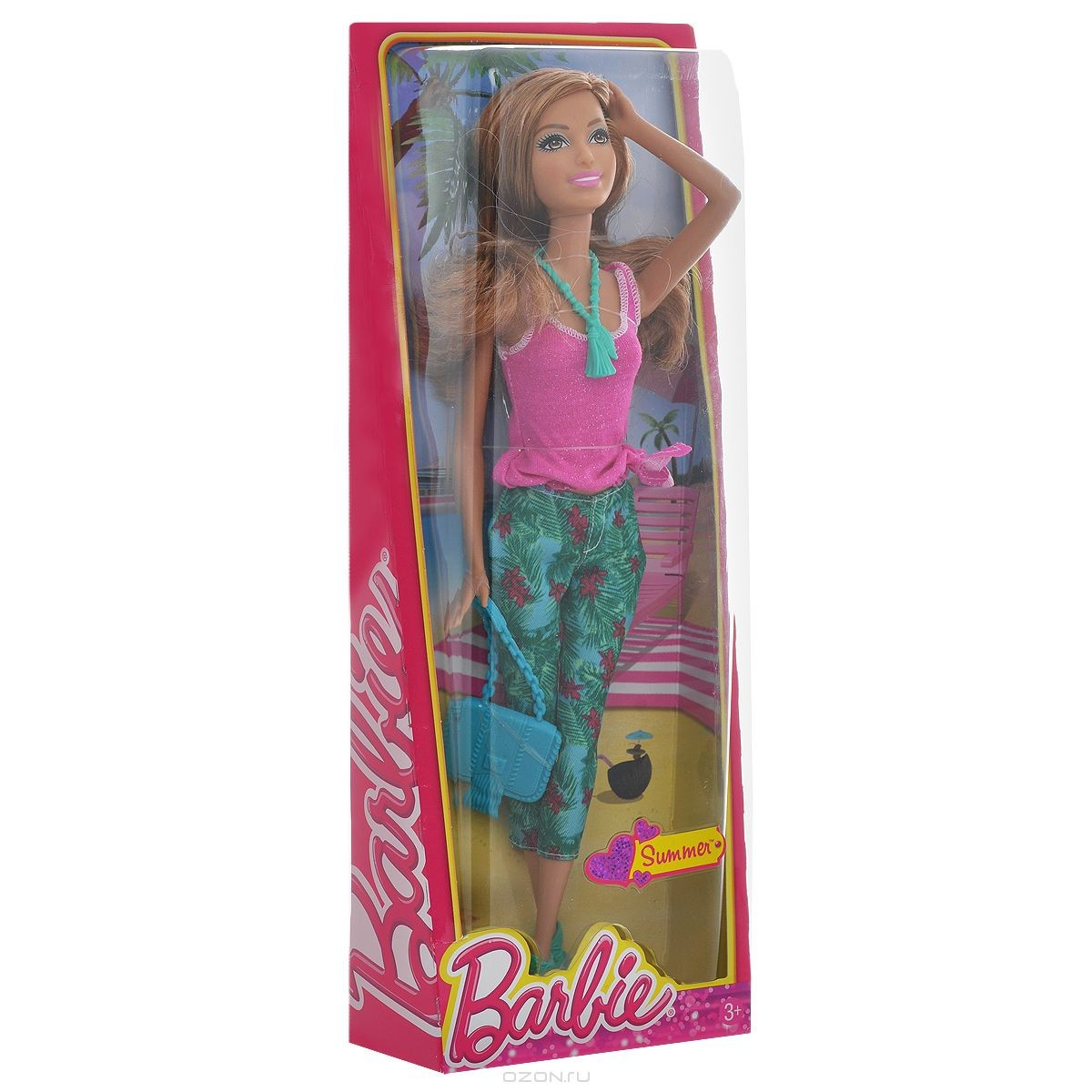 Кукла Саммер в тропиках