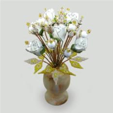 Цветы из кахолонга Подари любовь