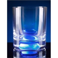 Синий светящийся бокал GlasShine
