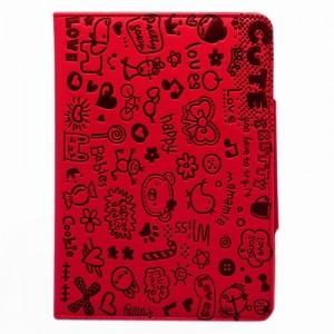 Чехол для iPad mini Happy (красный)